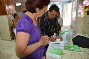 Cuba book distribution