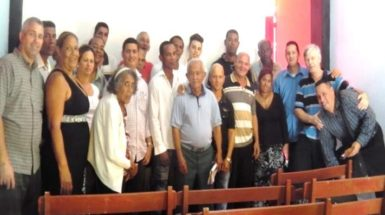 Preacher training in cuba