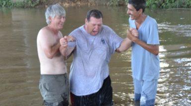 Baptism in Cuba